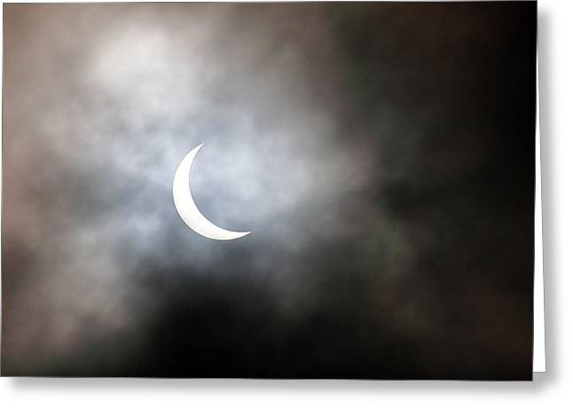 Solar Eclipse Greeting Card by Grant Glendinning