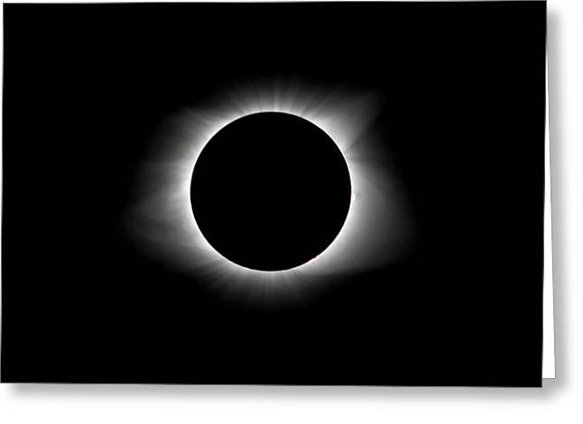 Solar Eclipse Ring Of Fire Greeting Card