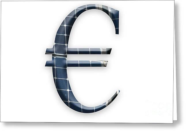 Solar Euro Greeting Card