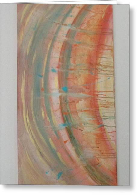 Solar Flare #2 Greeting Card by Sharyn Winters