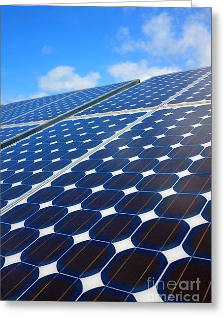 Solar Pannel Greeting Card