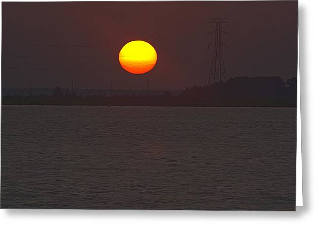 Solar Power Two Greeting Card by Kevin  Sherf