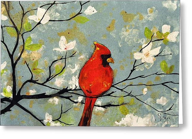 Sold Breaking A Cardinal Rule  Greeting Card by Amanda  Sanford