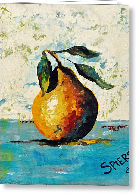 Sold Pearishable Greeting Card by Amanda  Sanford