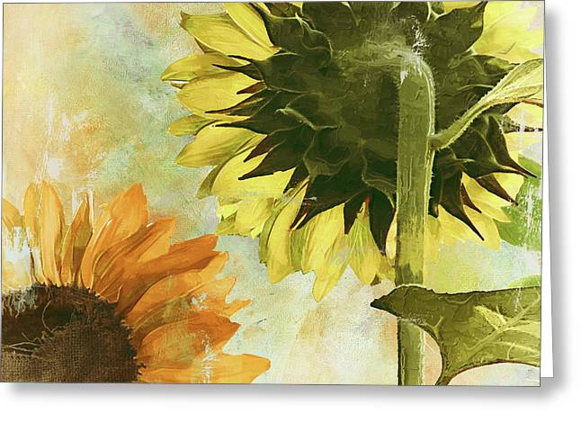 Soleil II Greeting Card by Mindy Sommers
