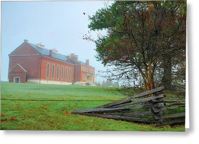 Greeting Card featuring the photograph Solemn Morning - Fort Smith National Historic Site  by Gregory Ballos