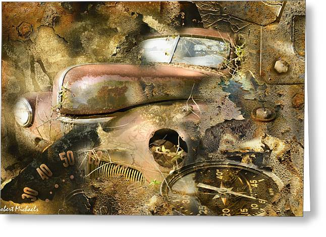 Robert michaels greeting cards solid rust greeting card m4hsunfo