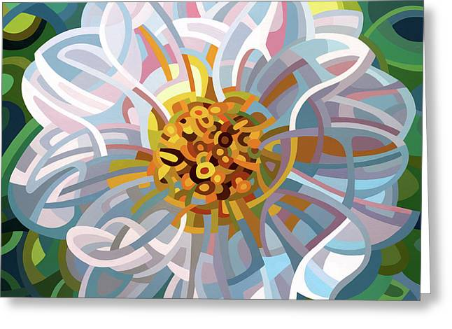 Solitaire Greeting Card by Mandy Budan