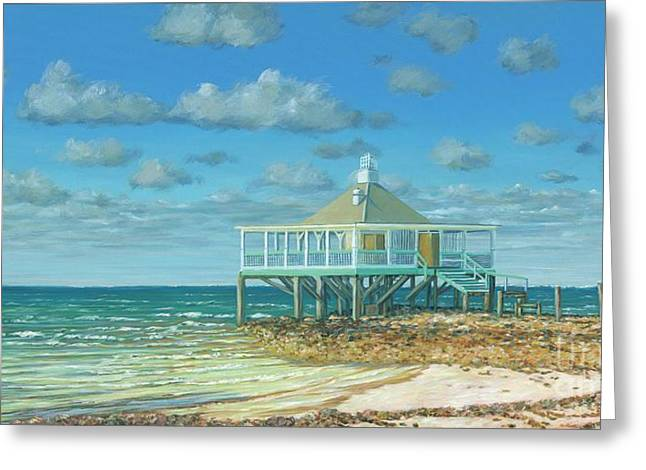 Solitude In Paradise Greeting Card