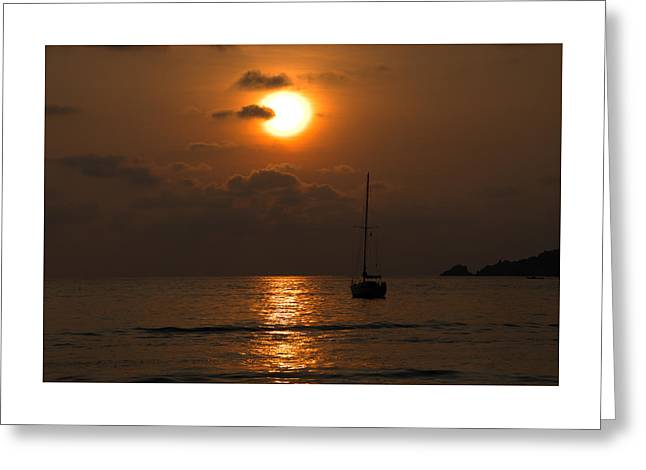 Solitude Greeting Card by Jim Walls PhotoArtist