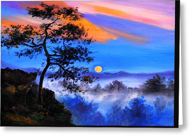 Solitude Greeting Card by Karen Showell
