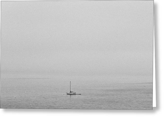 Greeting Card featuring the photograph Solitude by Lora Lee Chapman