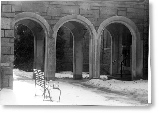 Greeting Card featuring the photograph Solitude by Margie Avellino