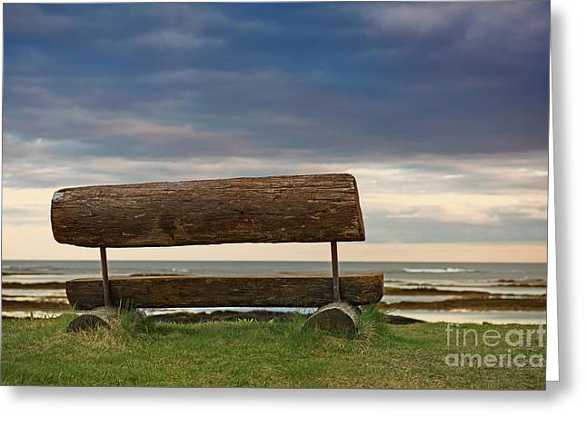 Greeting Card featuring the photograph Solitude.. by Nina Stavlund