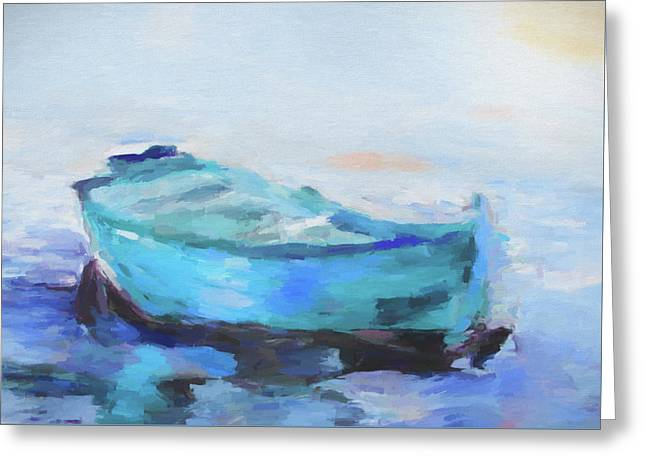 Solitude On The Sea Greeting Card