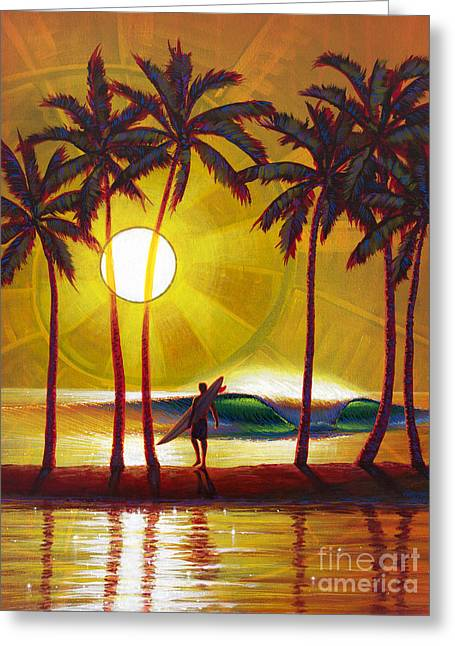 Solitude Greeting Card by Patrick Parker