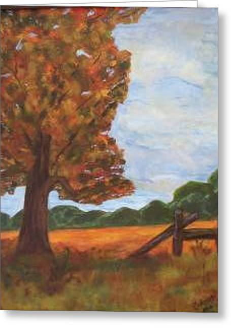 Solitude Greeting Card by Sandra Winiasz