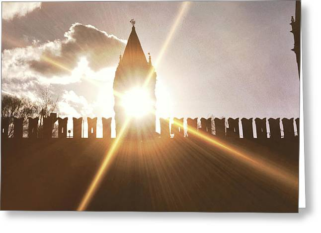 Solntse Greeting Card by JAMART Photography