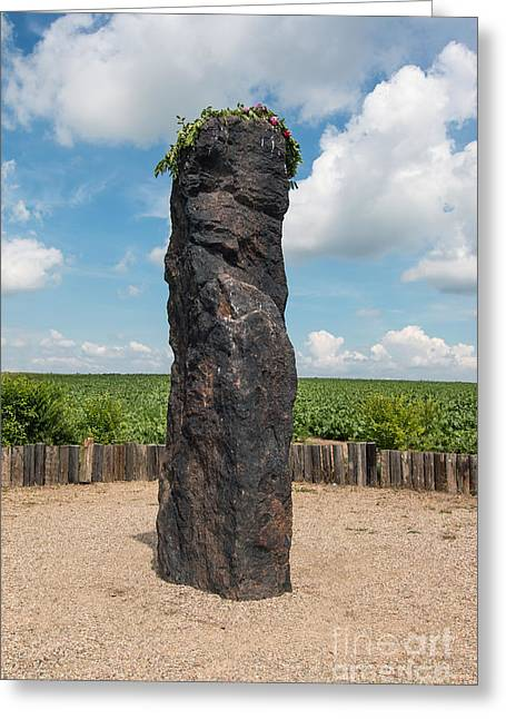 Solstice Celebrations - Menhir Stone Shepherd Greeting Card