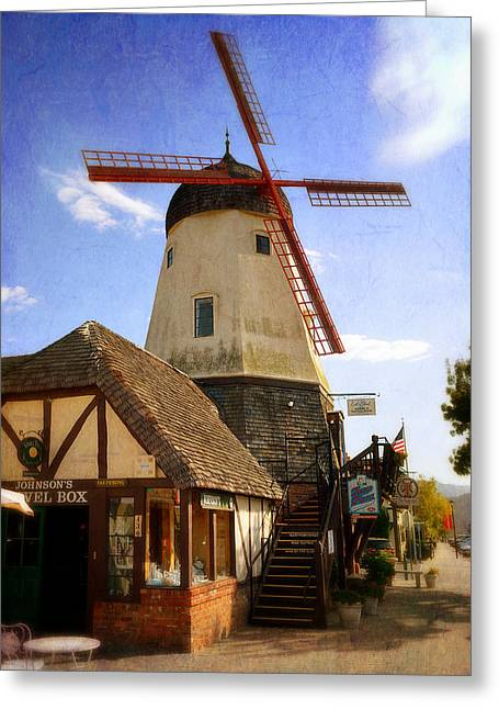 Solvang - Small Town America Greeting Card by Glenn McCarthy Art and Photography