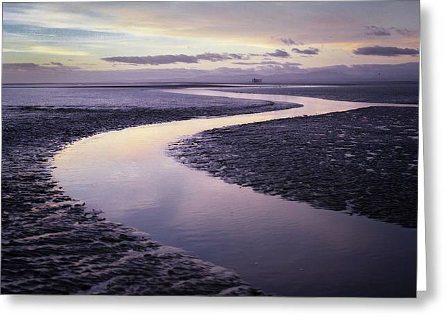 Solway Firth Dawn Greeting Card by Dave Bowman