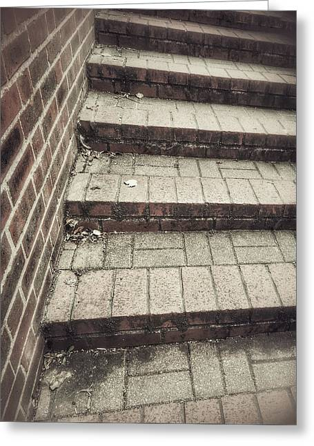 Some Brick Steps Greeting Card
