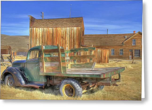 Greeting Card featuring the photograph Somethin' 'bout A Truck by Donna Kennedy