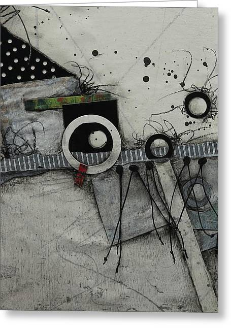 Something Different  Greeting Card by Laura Lein-Svencner