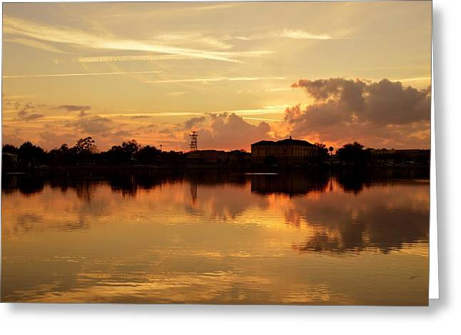 Sometimes Sunsets Just Happen Greeting Card