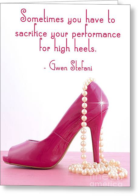 Sometimes You Have To Sacrifice Greeting Card by Milleflore Images