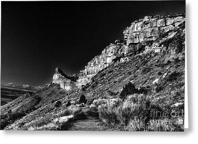 Somewhere In Mesa Verde Greeting Card by William Fields