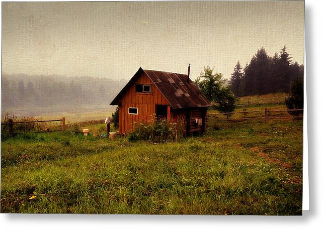 Somewhere In The Countryside. Russia Greeting Card