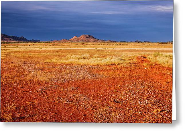 Somewhere In The Outback, Central Australia Greeting Card