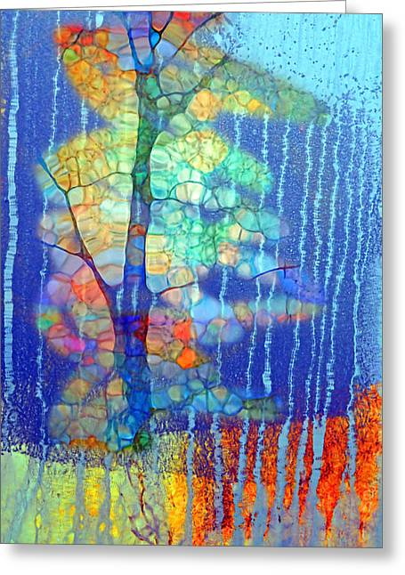 Somewhere Inside Of Me Greeting Card by Tara Turner