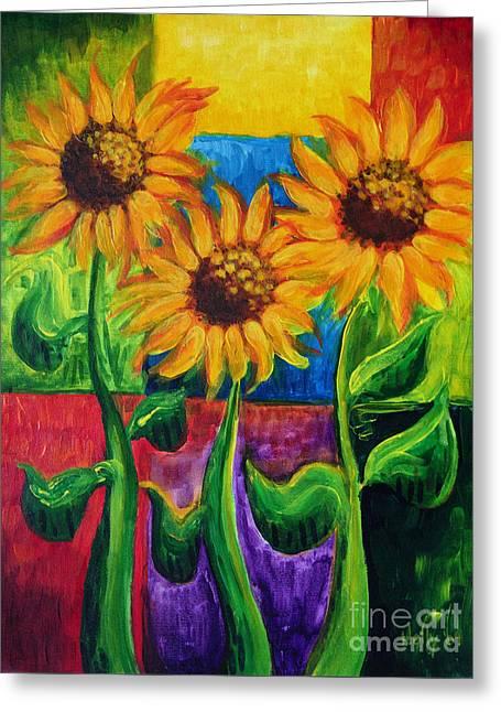 Sonflowers II Greeting Card