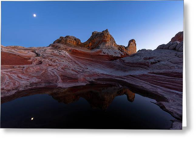 Greeting Card featuring the photograph Song Of The Desert by Dustin LeFevre