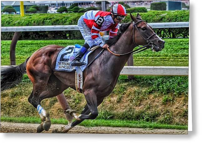 Songbird W Mike Smith Greeting Card