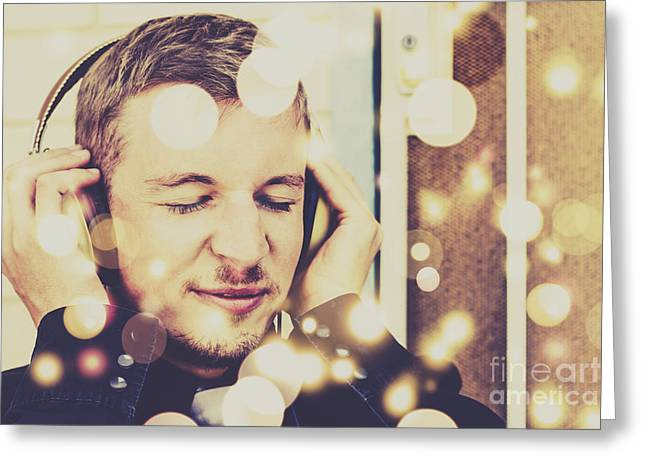 Songs In Frequency Greeting Card by Jorgo Photography - Wall Art Gallery