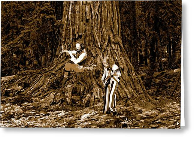 Greeting Card featuring the photograph Songs In The Woods 2 by Ben Upham