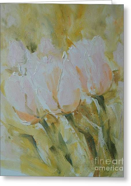 Sonnet To Tulips Greeting Card