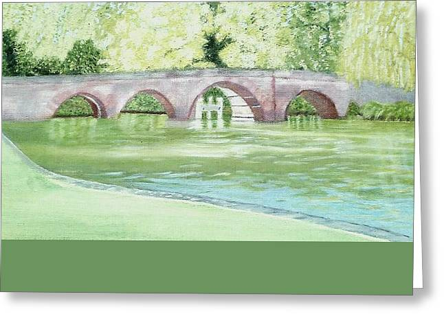 Sonning Bridge  Greeting Card