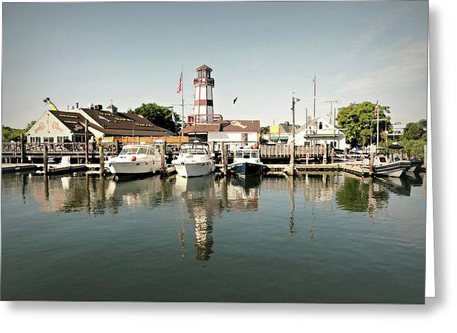 Sono Seaport Greeting Card