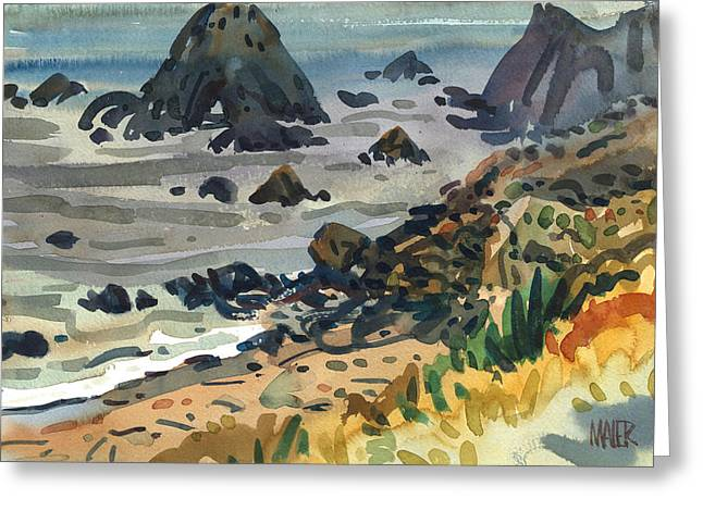 Sonoma Coast Greeting Card by Donald Maier