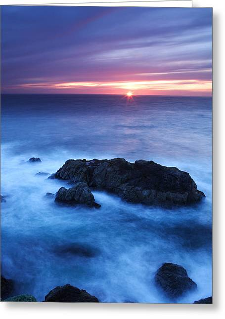 Sonoma Sunset Greeting Card by Eric Foltz