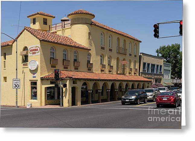 Sonora California Sonora Inn Dsc4148 Greeting Card