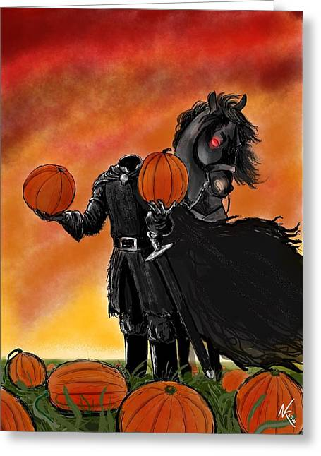 Soon It Will Be All Hallows' Eve Greeting Card