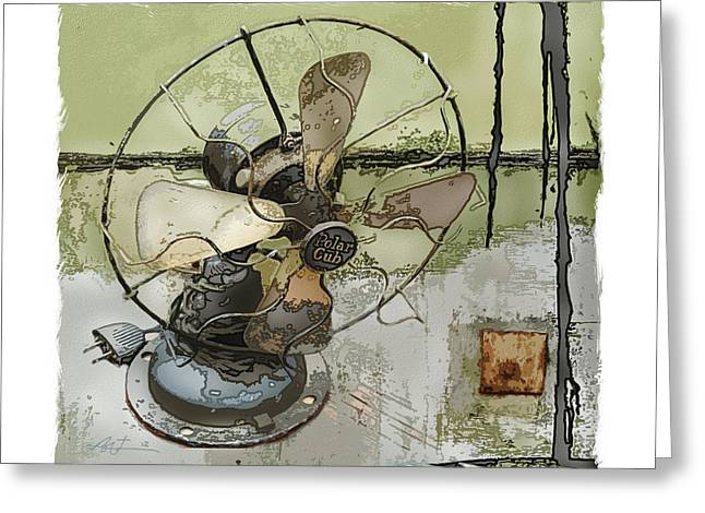 Object Mixed Media Greeting Cards - Sooo Cool  Greeting Card by Bob Salo