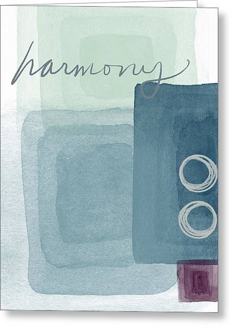 Soothing Harmony- Art By Linda Woods Greeting Card by Linda Woods