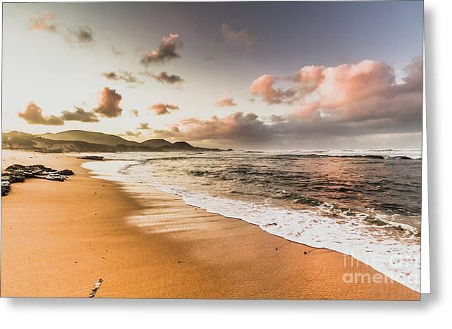 Soothing Seaside Scene Greeting Card