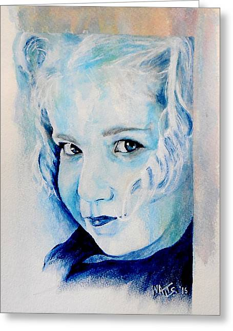 Sophia Greeting Card by William Walts